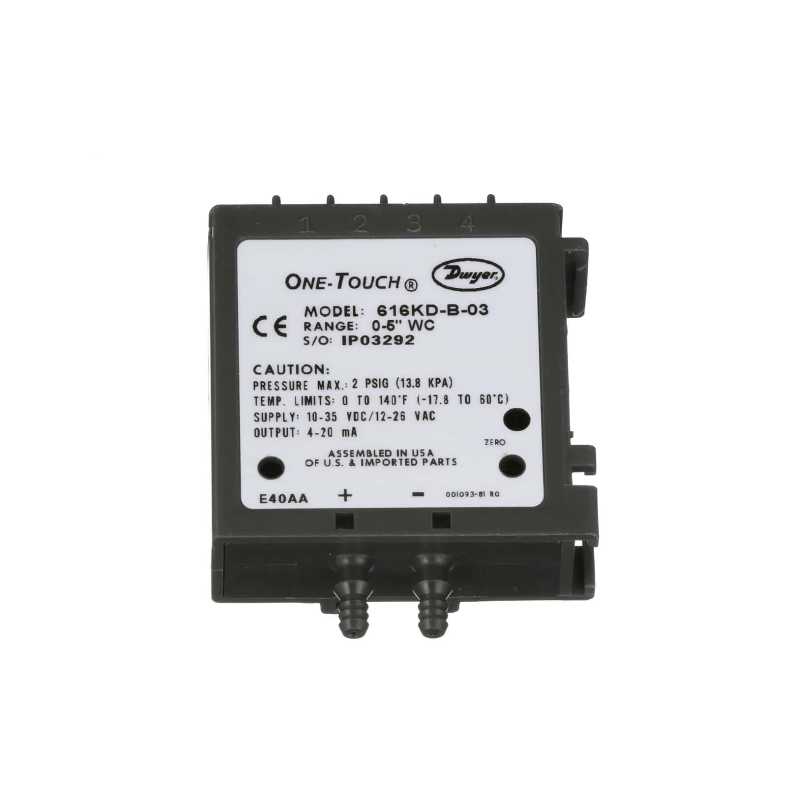 Series 616kd Differential Pressure Transmitter Dwyer Instruments Optical Sensorworkingconstructioncircuit Diagram Swipe To Spin