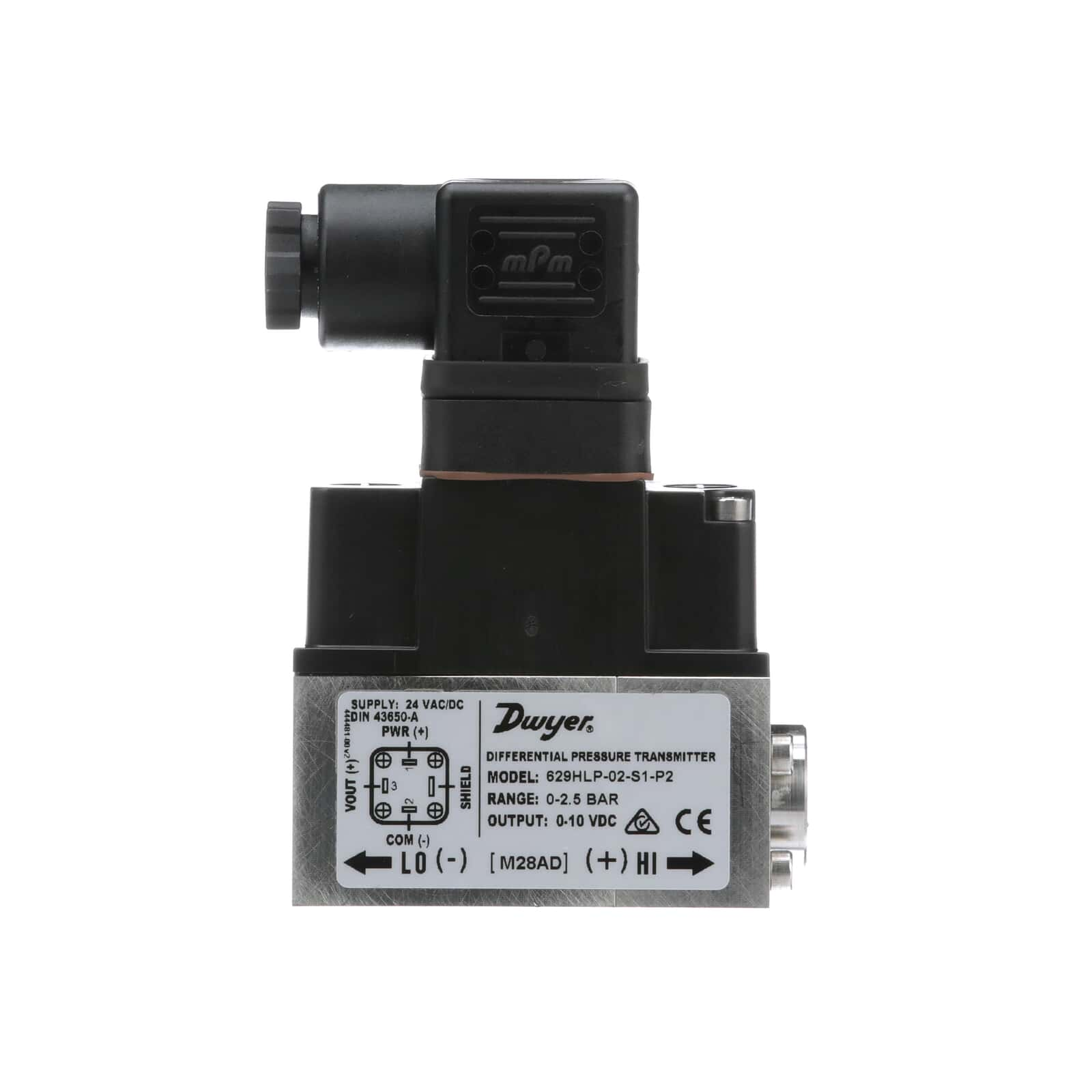 Series 629HLP   Differential Pressure Transmitters   Dwyer